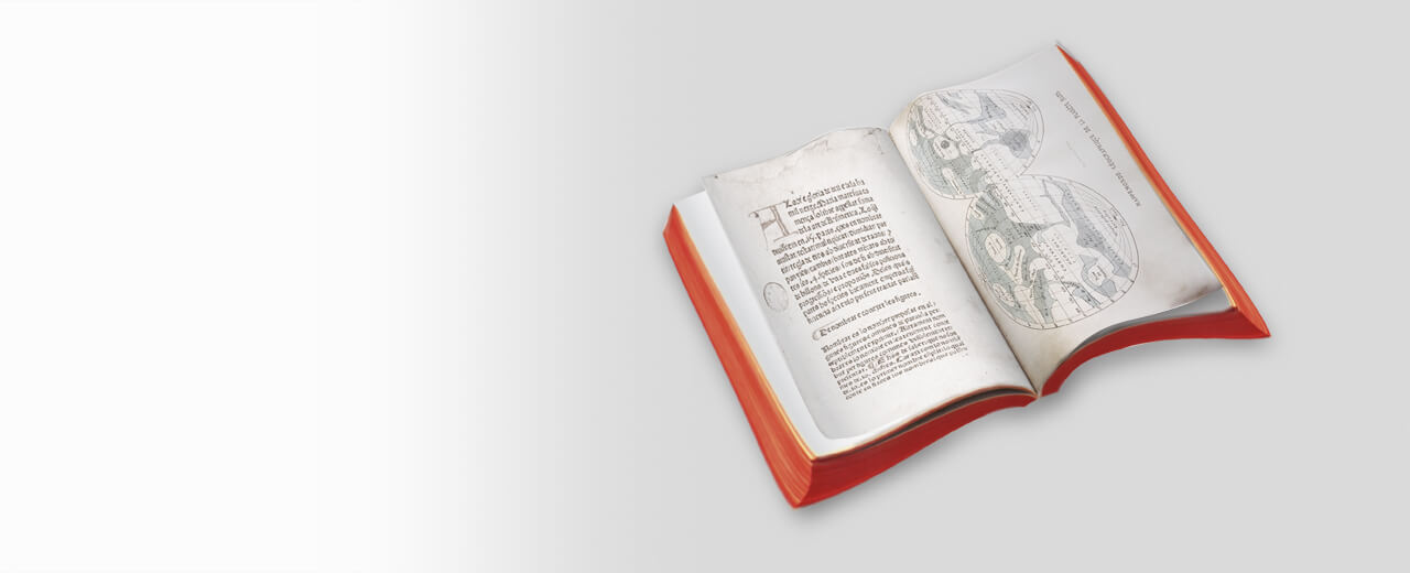 Ein wertvolles Buch soll digitalisiert werden
