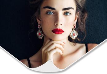 Fotoposter auf Metallic Pearl High Gloss Fotopapier
