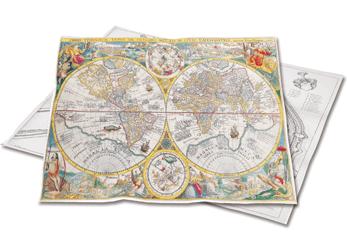 Historische Landkarten für den Scan