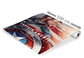 Plakatdruck-Roll in Breite 100cm mit Kino-Plakat