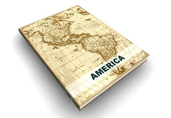 Atlas von Amerika