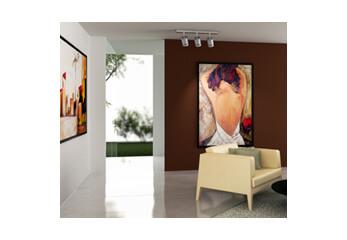 Ein Aussstellungsraum für moderne Kunst